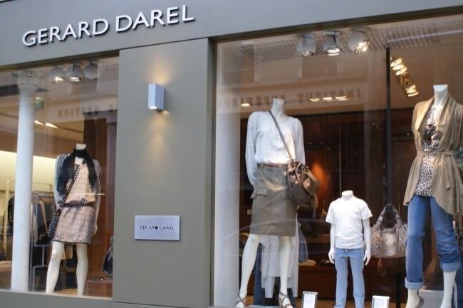 L'enseigne Gérard Darel a dû réagir rapidement et avec des moyens limités à l'annonce du deuxième confinement.