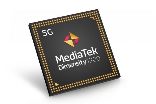 Mont�e en gamme significative pour Mediatek qui vient titiller le Snapdragon 888 de Qualcomm avec sa puce Dimensity 1200. (Cr�dit Mediatek)