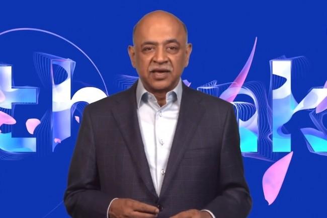 Arvind Krishna a succédé début 2020 à Ginni Rometty en tant que CEO d'IBM pour le meilleur mais aussi le pire... (crédit : IBM)