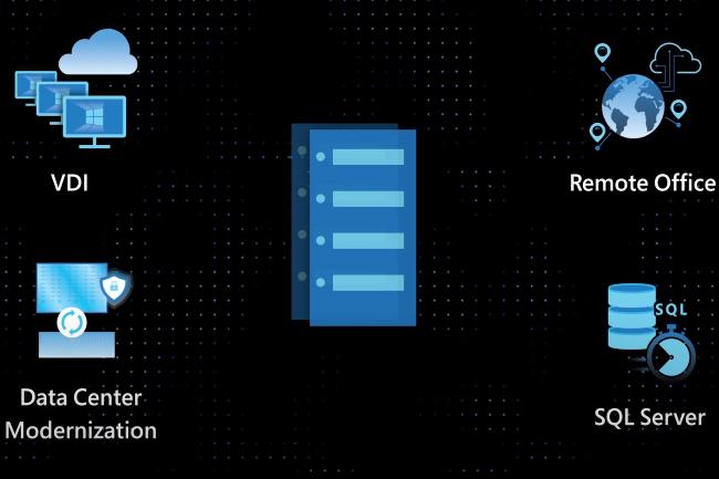 Azure Stack HCI comprend des fonctionnalit�s suppl�mentaires. (Cr�dit Photo: Microsoft)