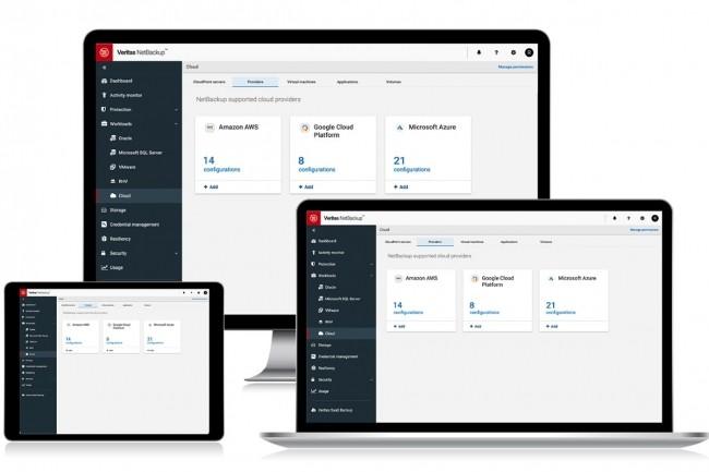 Avec NetBackup 9.0, Veritas étend son périmètre de sauvegarde aux systèmes HCI et très bientôt aux applications SaaS grâce au rachat de HubStor. (Crédit Veritas)