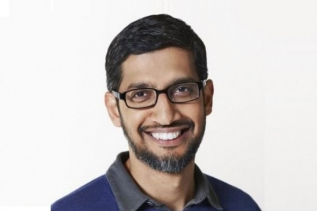 Les bons résultats de Google sur le 4ème trimestre 2020 montrent la transition accélérée vers les services en ligne et le cloud, souligne Sundar Pichai, CEO de Google et de sa maison mère Alphabet. (Crédit : Google)