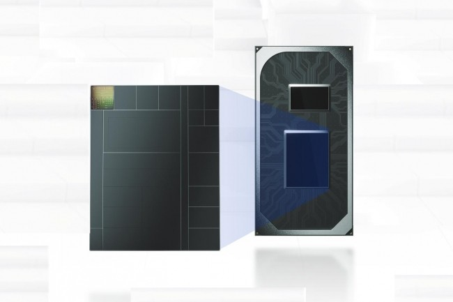 Avec ses puces Tiger Lake, Intel est passé à la gravure 10 nm avec une partie graphique plus musclée avec l'arrivée du circuit Iris Xe LP. (Crédit Intel)