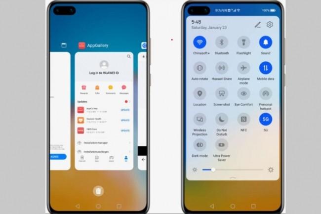 HarmonyOS de Huawei sera-t-il un simple copier-coller d'Android ? (crédit : Ron Amadeo / Arstechnica)
