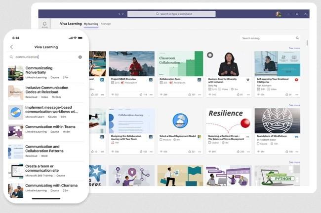 Microsoft lance la plateforme Viva, une version modernisée de l'Intranet d'entreprise. (Crédit: Microsoft)