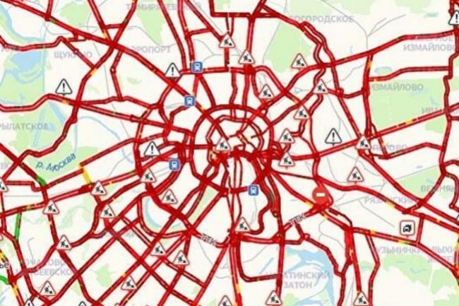 Yandesk.Traffic, concurrent russe de Google Maps, a été visé par une attaque par spoofing ayant gravement altéré son fonctionnement. (crédit : Yandes.Traffic)