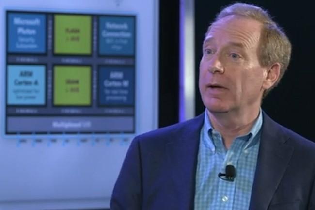 Pour le président de Microsoft, l'élaboration de la faille dans SolarWinds a mobilisé un millier de développeurs. (Crédit Photo: Microsoft)