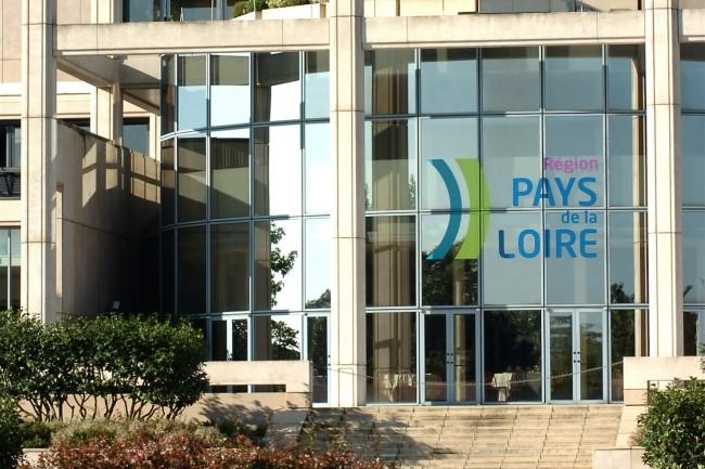 La Région Pays de la Loire (ci-dessus, l'Hôtel de Région) finance le nouveau programme d'accélération Dinamic+ dans le cadre de son plan de relance, avec l'Etat, le Feder et Bpifrance. (Crédit : Région Pays de la Loire)