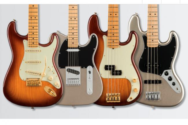 Pour mettre en place sa ligne IoT et surveiller la production de ses guitares, Fender a décidé de travailler avec la solution d'AWS. (Crédit Fender)