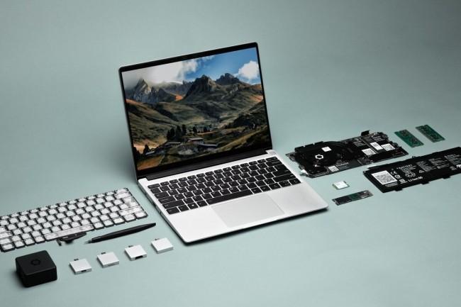 La conception modulaire du PC portable Framework est une proposition unique sur le marché. (Crédit : Framework)