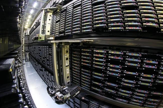 La solution Strongbox Data exploite des cartouches LTO pour sauvegarder 120 Po par an au Deutsches Klimarechenzentrum. (Cr�dit DKRZ)