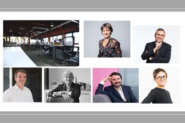 Le 18 mars, Nespresso, la Mutuelle Générale, Amazon France, Dropbox France, Fabernovel et Jooxter parleront de la transformation de l'organisation du travail après la pandémie. (photos entreprises / Pixabay)