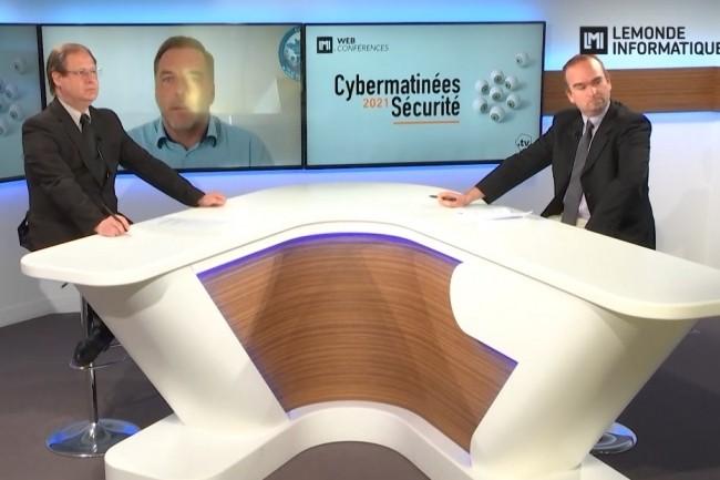 Premi�re �tape des Cybermatin�es S�curit� du Monde Informatique avec la r�gion PACA diffus�e le 10 mars 2021. (cr�dit : LMI)