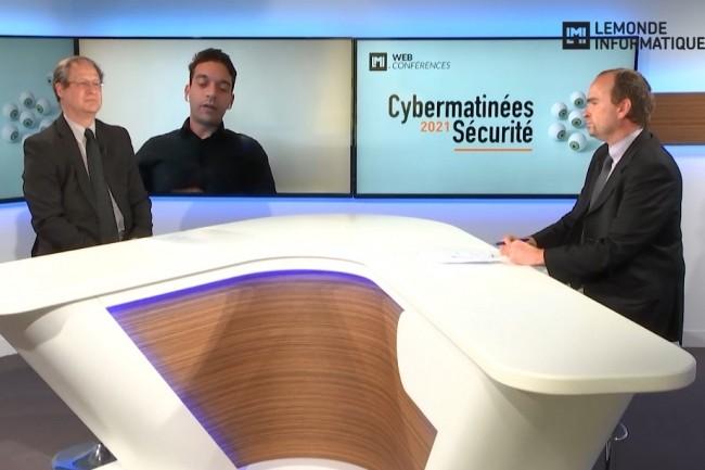 Zakaria Hadj, RSSI de Pro BTP, témoigne sur la détection des intrusions et la lutte contre les cybermenaces sur la Cybermatinée Sécurité PACA diffusée le 10 mars 2021. (crédit : LMI)