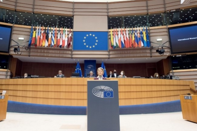 Le plan 2030 pour les semi-conducteurs et l'informatique en Europe doit être présenté par la vice présidente de la commission européenne, Margrethe Vestager, et le commissaire européen au marché intérieur Thierry Breton. (crédit : ec.europa)