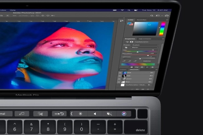 Adobe lance officiellement Photoshop pour les environnements Mac M1. (Cr�dit Photo: Adobe)