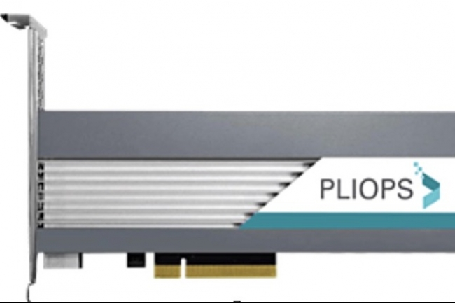 La carte accélératrice de Pliops repose sur un GPU et UN DPU associé à un PSP maison. (Crédit Pliops)