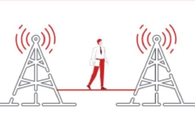 Quand la 5G est achetée en tant que service à un telco, les données transitent par le réseau du fournisseur de services et passent dans son cœur de réseau avant d'être acheminées vers l'Internet pour revenir au client. (Crédit Hub One)