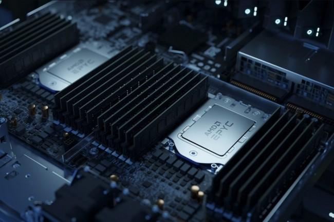 Les serveurs exploitant les puces AMD Epyc Milan sont proposés en mode mono et bisocket. (Crédit AMD)