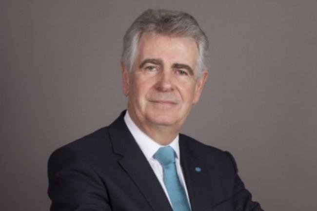 Jean-Claude Cornillet restera pr�sident du conseil de surveillance de KMBSF jusqu'� la fin de l'ann�e 2021. (Cr�dit photo : Konica Minolta)
