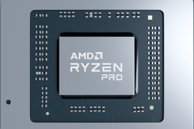 Les processeurs AMD Ryzen Pro bénéficient de 18 mois de stabilité logicielle planifiée et 24 mois de disponibilité planifiée. (Crédit AMD)