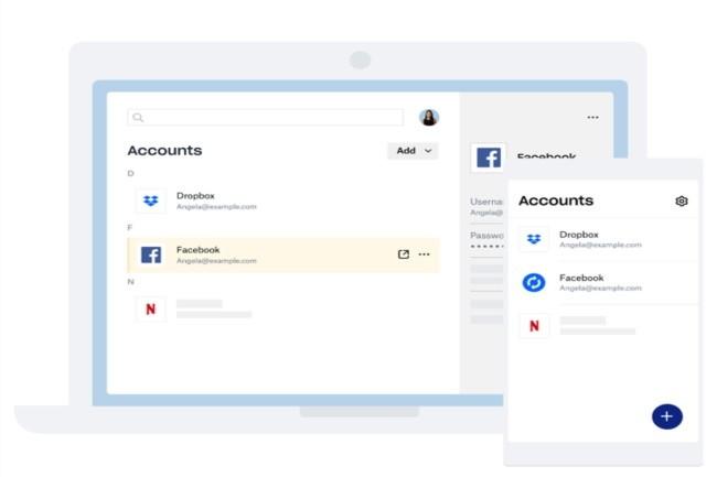 Dropbox va proposer son service Passwords aux clients de son offre Basic. (Crédit Photo: Dropbox)