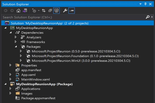 Microsoft a publi� la version 0.5 du projet R�union visant � unifier les API Windows pour les d�veloppeurs. (Cr�dit Photo: Microsoft)