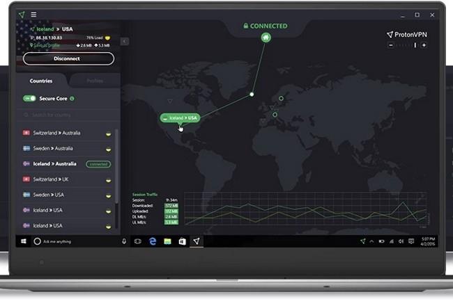 Avant de choisir son VPN gratuit, il est bon de vérifier plusieurs points sur le fournisseur, la sécurité et la protection des données. (Crédit Photo : ProtonVPN)