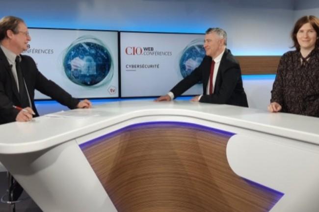 De gauche à droite : Jacques Cheminat (rédacteur en chef du Monde Informatique), Bertrand Lemaire (rédacteur en chef de CIO) et Aurélie Chandeze (rédactrice en chef adjointe de CIO).