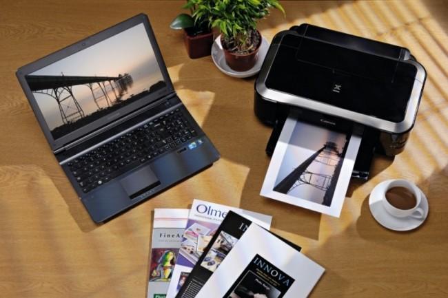 Avec Wi-Fi Aware Google veut faciliter le partage et l'accès à des terminaux proches dont des smartphones et des imprimantes. (crédit : Canon)