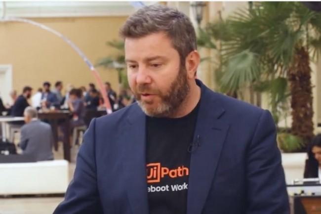 Daniel Dines, CEO de UiPath, a co-fondé la star montante du RPA en 2005 à Bucarest avec Marius Tirca, CTO. (Crédit : UiPath)
