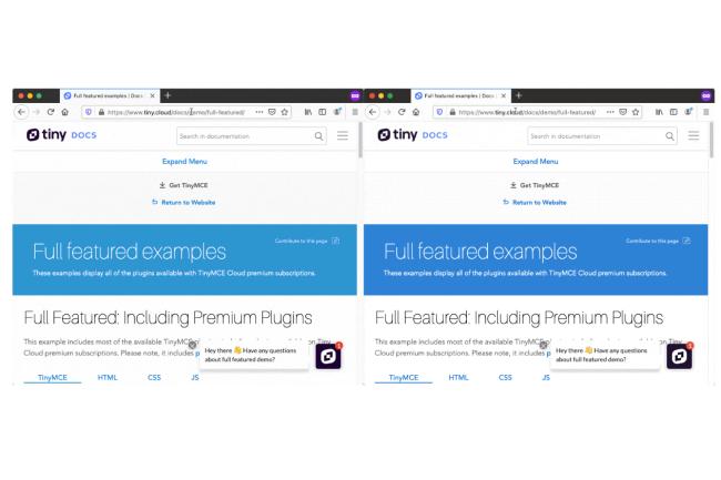 Avec SmartBlock, Firefox va améliorer l'affichage des sites dans le mode privé de navigation. (Crédit Photo: Mozilla)