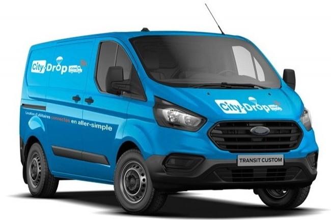Les véhicules connectés de City-drop sont accessibles grâce à une application mobile. (crédit : City-drop)