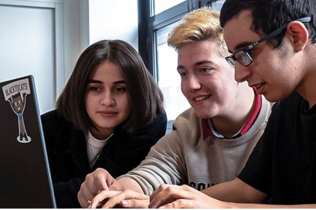 Les formations informatiques proposées par Sup de Vinci à Rennes sont proposées aux étudiants par la voie de l'alternance. (Crédit photo: Sup de Vinci)