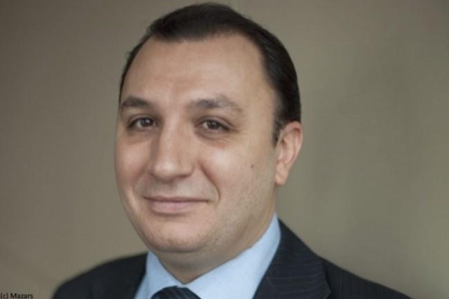 Mikael Elbaz, Associé Data Analytics de Mazars, dirige un département traitant les données en amont des audits proprement dits. (Crédit : Mazars)