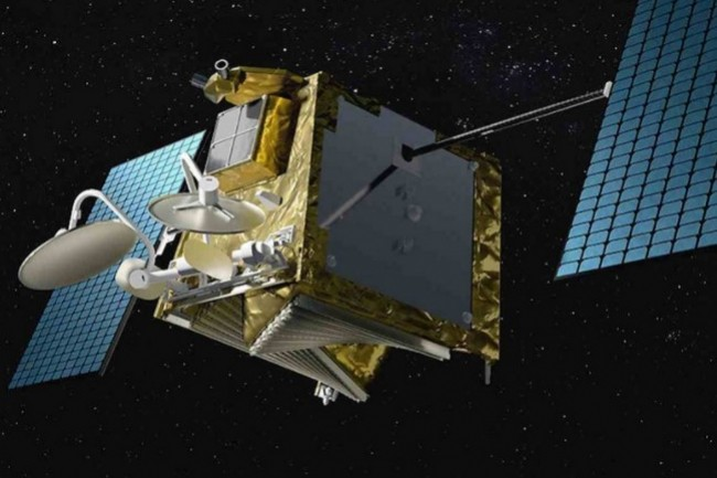 La galaxie de satellites de OneWeb Satellites se monterait à 146 actuellement sur un objectif de 648. (crédit : Airbus)