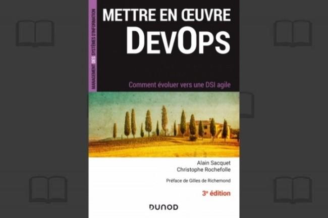 La troisième édition de « Mettre en œuvre Devops – Comment évoluer vers une DSI agile » est disponible aux éditions Dunod depuis février 2021.