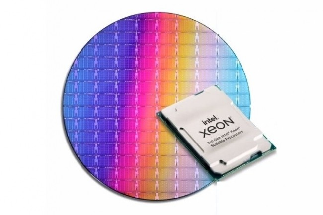 Les Xeon Ice Lake présentent une amélioration de 20 % de l'IPC par rapport à la génération précédente. (Crédit Intel)