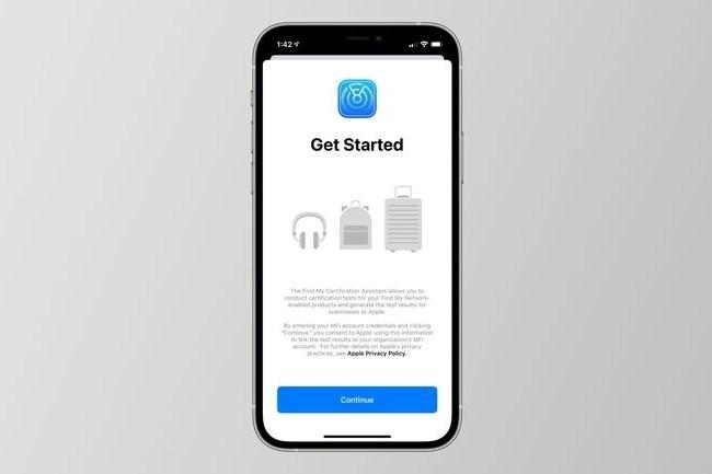 L'application Find My sera bientôt utilisée pour trouver d'autres objets que les équipements Apple (casques, sacs à dos, valises). (Crédit : Apple, via 9to5Mac)