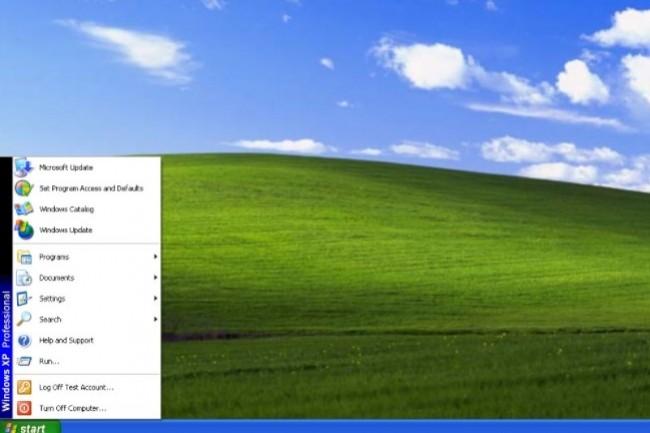 Windows XP apparait toujours comme une aubaine pour faire passer à la caisse des utilisateurs victimes de ransomwares. (crédit : Microsoft)