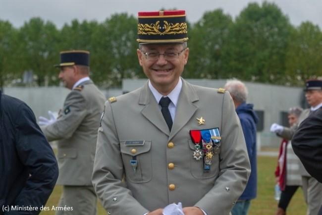 Pris ici en photographie en 2019, le général Olivier Serra était directeur général adjoint de la DGNum.