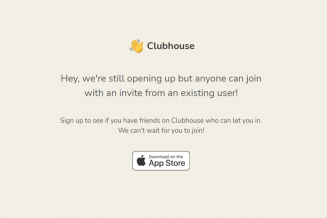 Twitter a arr�t� les discussions avec Clubhouse en vue d'un rachat pour 4 milliards de dollars (Cr�dit : C�lia Seramour)