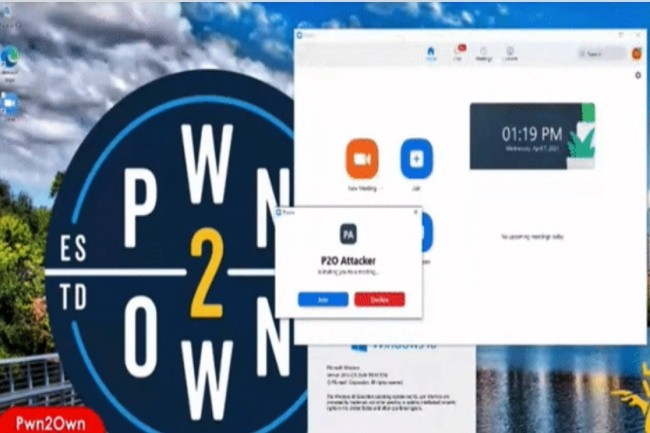 Zoom a été craqué au même titre que Teams lors du concours Pw2own 2021. (Crédit Photo: ZDI)