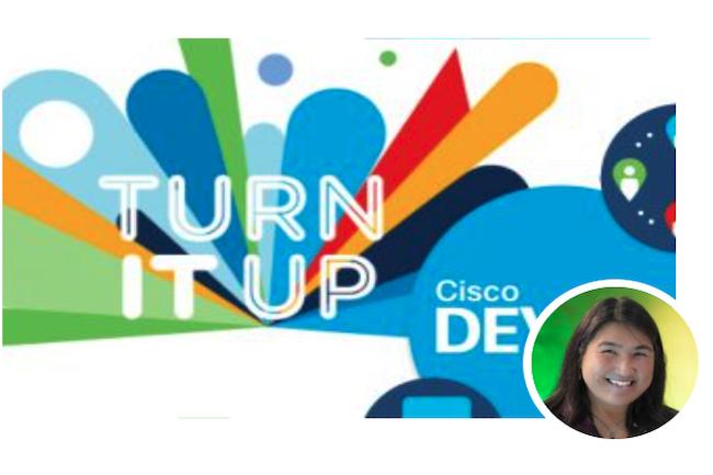 Susie Wee, vice-pr閟idente senior et CTO de Cisco DevNet Ecosystem Success, assure le suivi avec les d関eloppeurs. (Cr閐it Cisco)