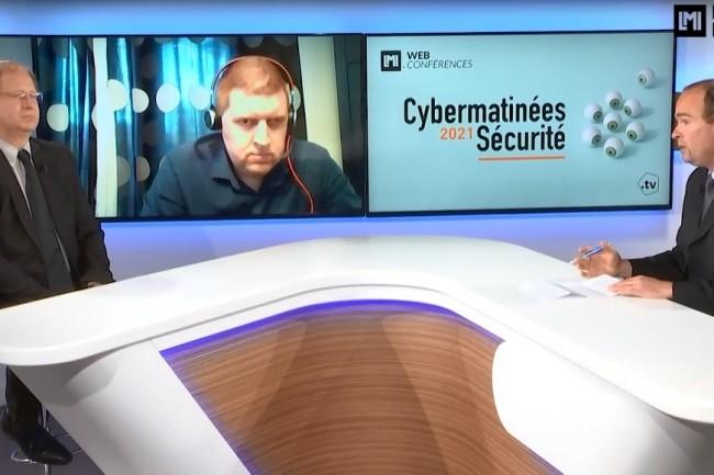 Yohann Bauzil, RSSI d'Airbus OneWeb Satellites, est intervenu sur la Cybermatinée Sécurité Occitanie du Monde Informatique ce 14 avril 2021. (crédit : LMI)