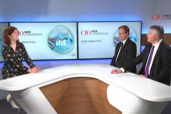 Cette CIO.expériences a été animée par, de gauche à droite, Aurélie Chandèze (rédactrice-en-chef adjointe de CIO), Jacques Cheminat (rédacteur-en-chef du Monde Informatique) et Bertrand Lemaire (rédacteur-en-chef de CIO).