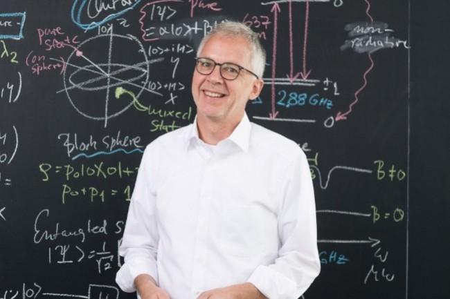 Thomas Strohm, l'un des vice-président duQuantum Industry Consortium, chercheurau sein deBosch, a jeté les bases de la création du consortium avec Tommaso Calaro, président du Quantum Community Network et responsable de la division Quantum Control au centre de recherche Jülich en Allemagne. (Crédit : Bosch)