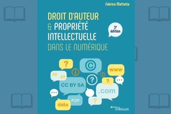 «Droit d'auteur et propriété intellectuelle dans le numérique» vient de paraître aux Editions Eyrolles.