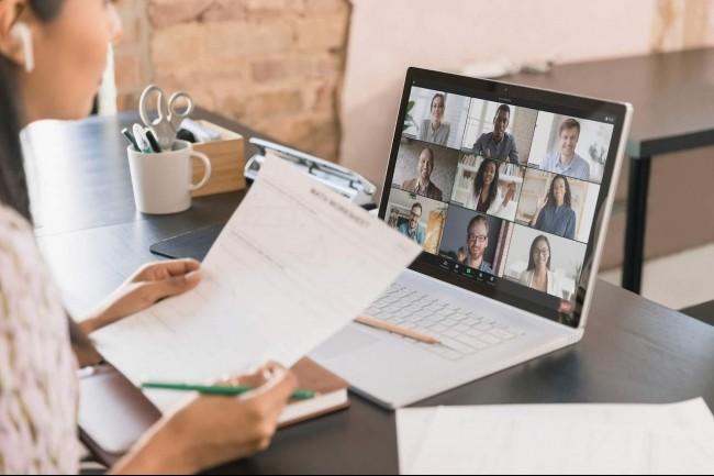 Faire en sorte que les réunions restent productives et ludiques malgré la pandémie est l'un des objectifs de Zoom. (Crédit : Zoom)