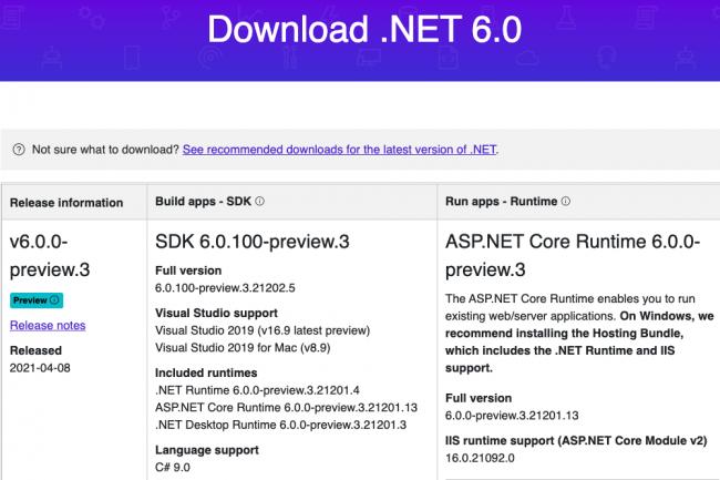 Microsoft .NET 6 intégrera des fonctionnalités pour Android, iOS et MacOS. (Crédit Microsoft)